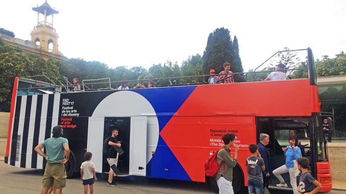 Bus turístico FAD FEST'17